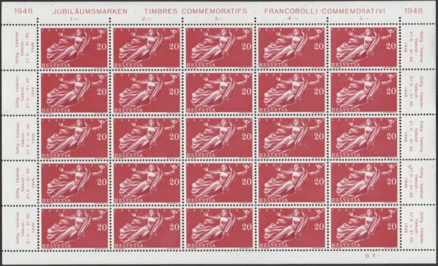 SBK 283 (Mi. 498), Helvetia Bogen_10