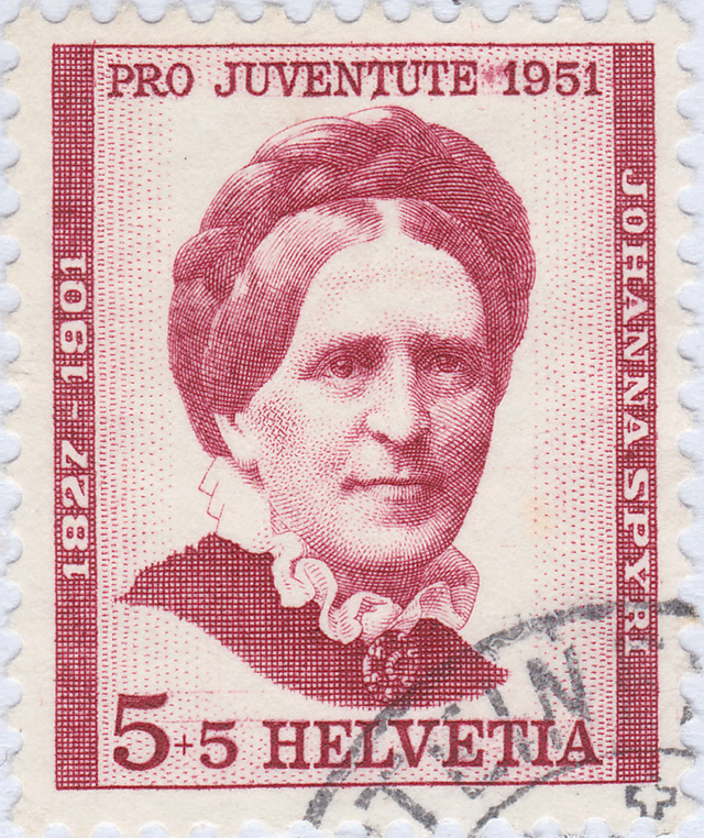 SBK J138 (Mi 561) Johanna Spyri J138_211