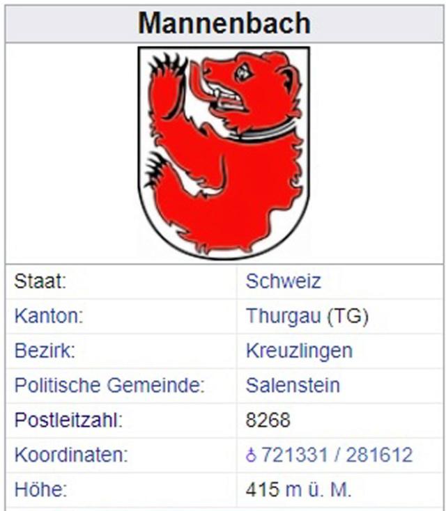 Mannenbach TG - 224 Einwohner Mannen11