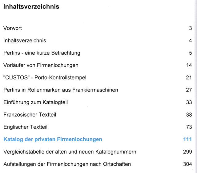 Katalog: CH PERFINS von Martin Baer Perfin11