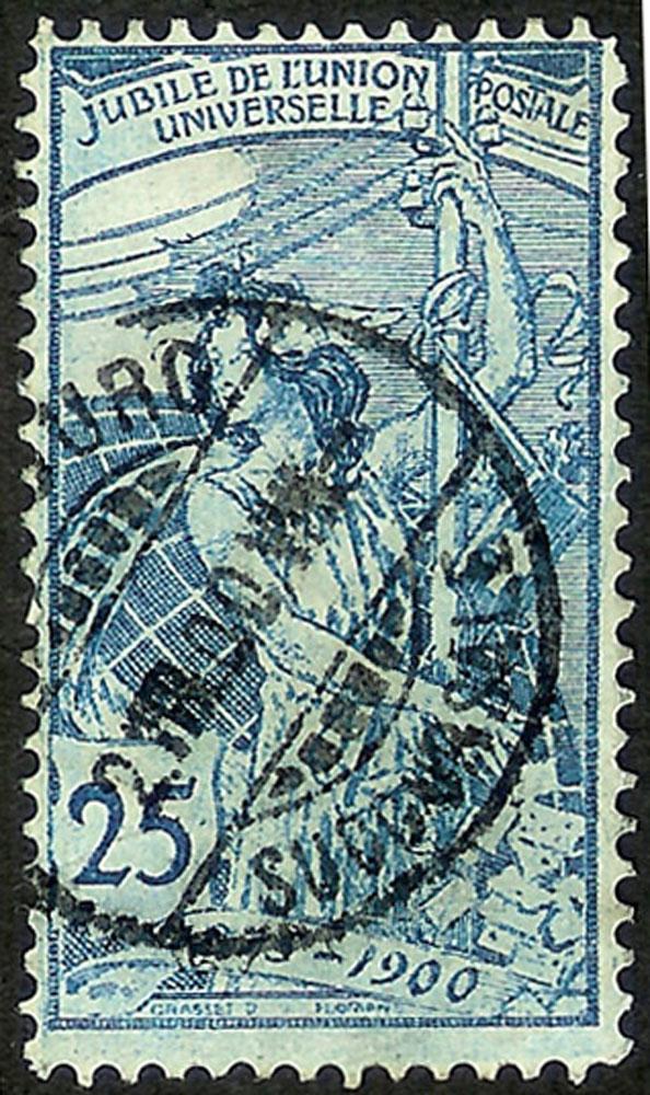 SBK 79A (Mi 73I) 25 Rp blau, 1. Platte Rand_g10
