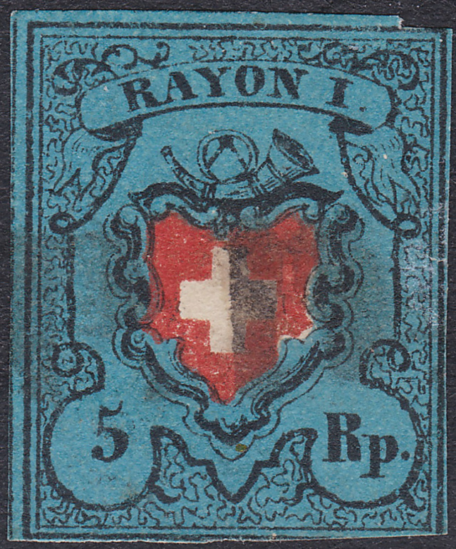 SBK 15II, Rayon I, dunkelblau ohne Kreuzeinfassung Rayon_15
