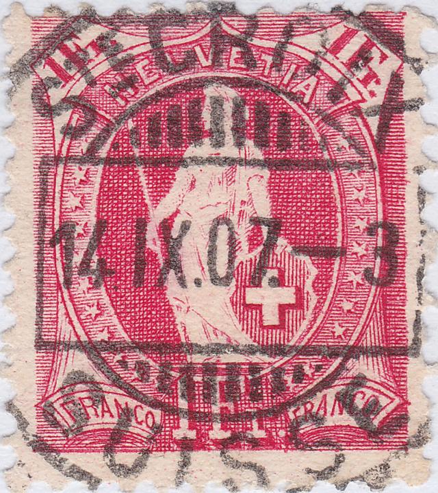 Meine Sammel Leidenschaft Heimat/Stempel und Postgeschichte St_cro10