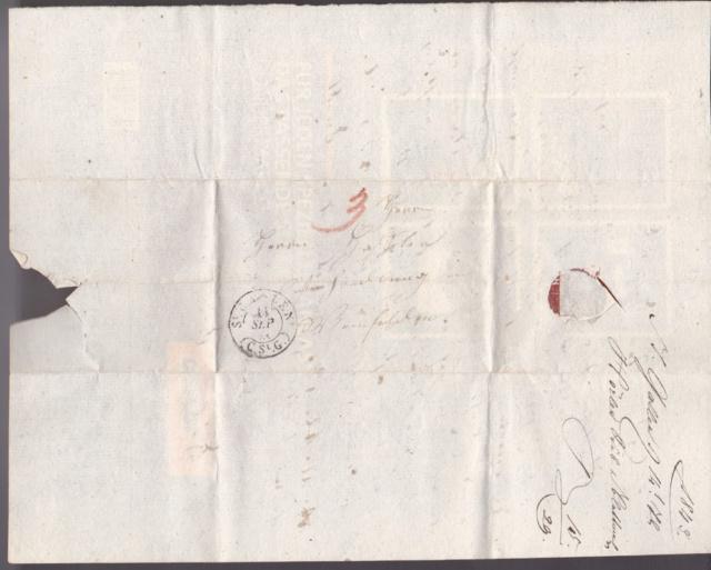 Ortsbrief von und nach St. Gallen in der Zeit von 1.1.1850-30.09.1850 St_gal10