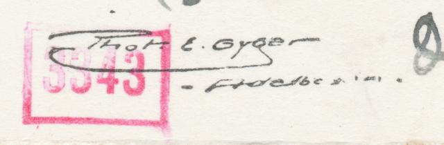 Belege aus der Schweiz, die zensiert wurden Zermat11