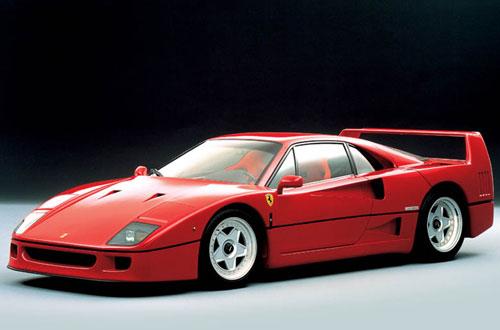 Le mythe Ferrari F40-av10