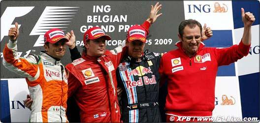 Grand Prix  de SPA Belgique Podium10