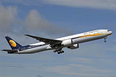 Jet Airways ! 9W ! JAI K6400710