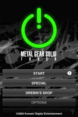 METAL GEAR SOLID TOUCH (US) - Cracked 212115