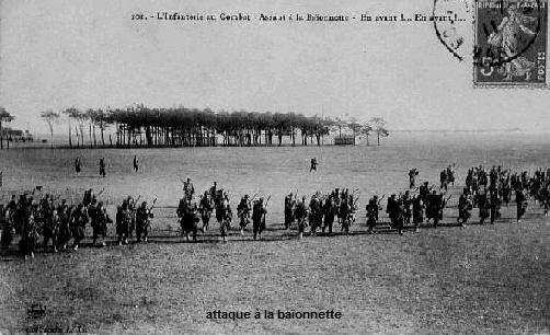 Les Braspartiates dans la Grande Guerre: 1914 Attaqu11