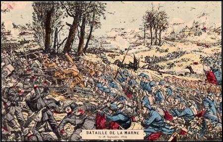 Les Braspartiates dans la Grande Guerre: 1914 Batail10