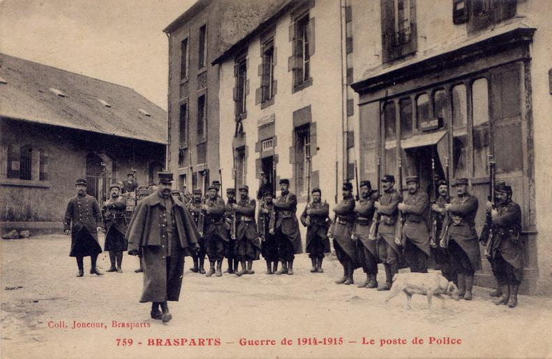 Un Régiment à Brasparts en 1914-1915: le 14ème Territorial File0089