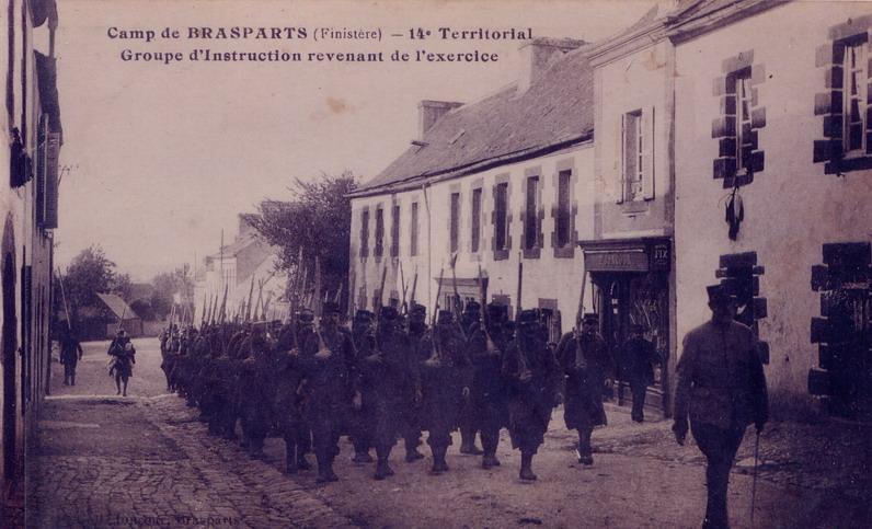 Un Régiment à Brasparts en 1914-1915: le 14ème Territorial File0113