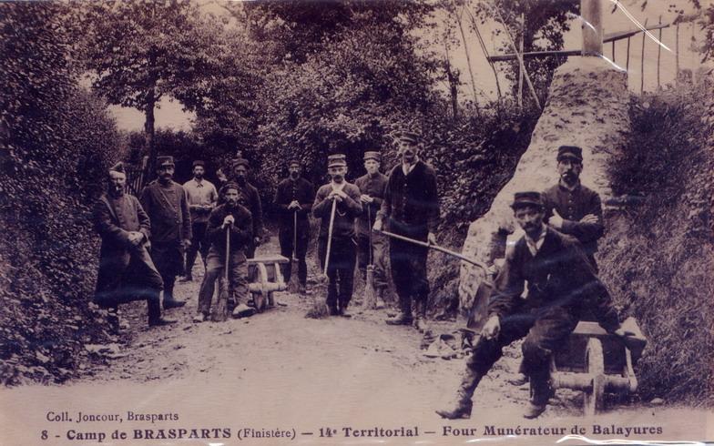 Un Régiment à Brasparts en 1914-1915: le 14ème Territorial File0115
