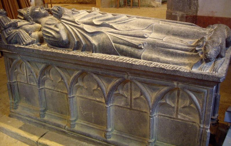 Saint Jaoua, premier recteur de Brasparts Imgp8311