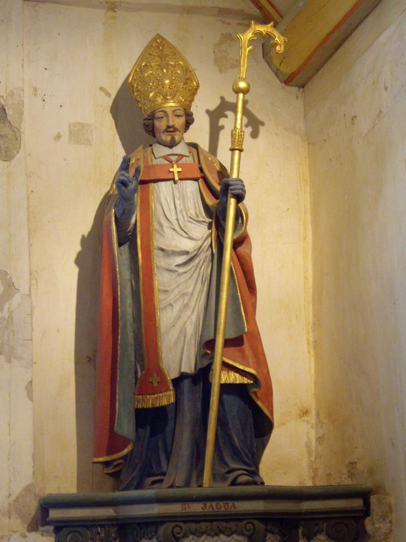 Saint Jaoua, premier recteur de Brasparts Imgp8313