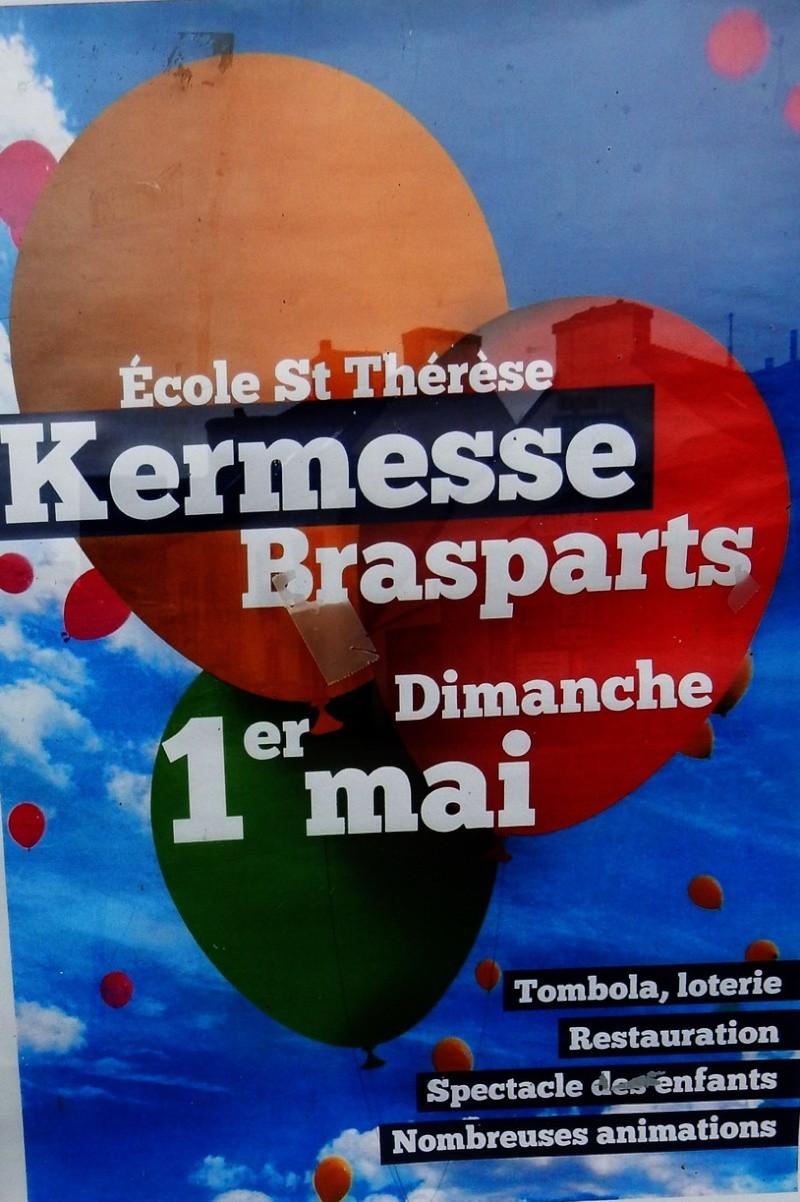 Kermesse de l'Ecole Sainte Thérèse le 1er mai 2016 Kermes24