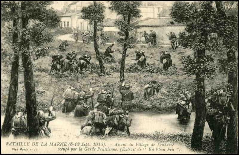 Les Braspartiates dans la Grande Guerre: 1914 Lenhar10