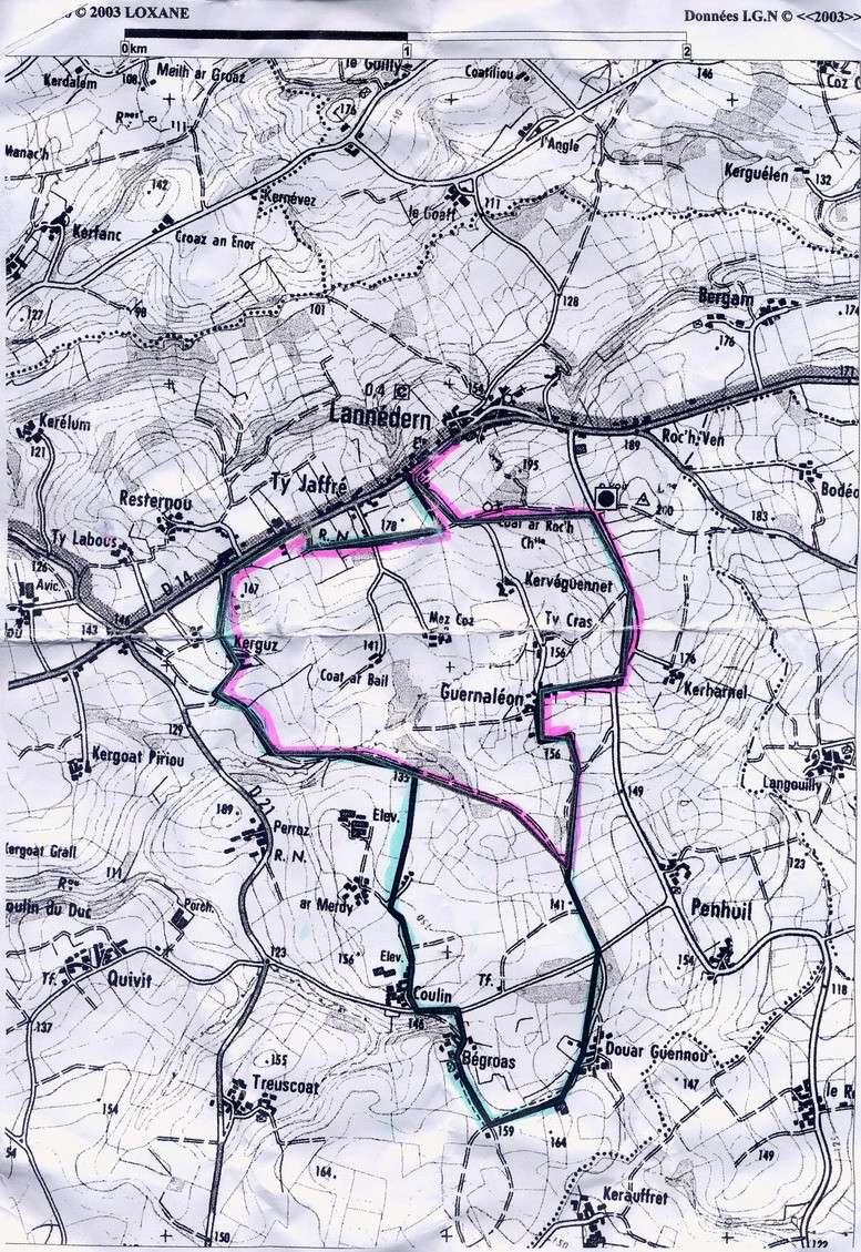 Circuit de la randonnée Sports et Loisirs 2009 Randon13
