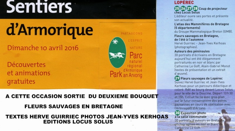 Promenade botanique le 10 avril à Lopérec Sentie10