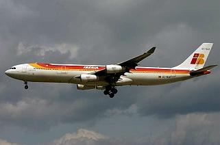 IBERIA ! IB ! IBE A340ib10