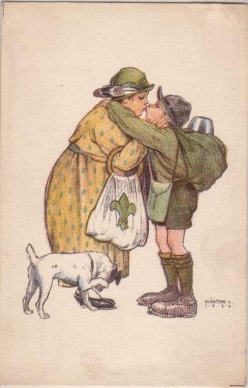 Pfadfinderkarten von Lájos Márton 1926ab10