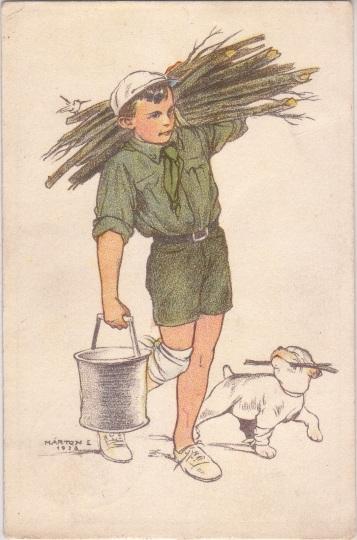 Pfadfinderkarten von Lájos Márton 1926ho10