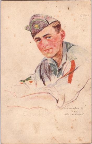 Pfadfinderkarten von Lájos Márton 1927la10