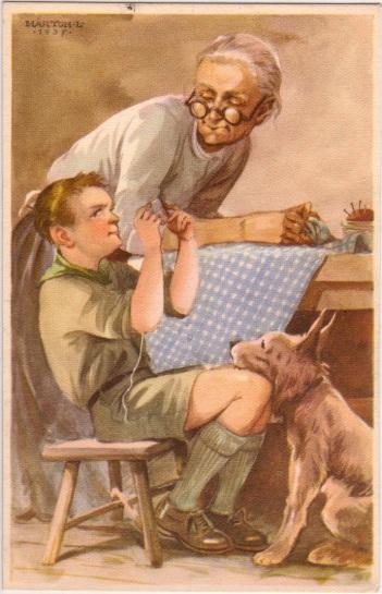 Pfadfinderkarten von Lájos Márton 1937ei10