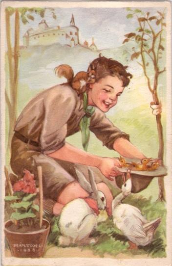 Pfadfinderkarten von Lájos Márton 1938en10