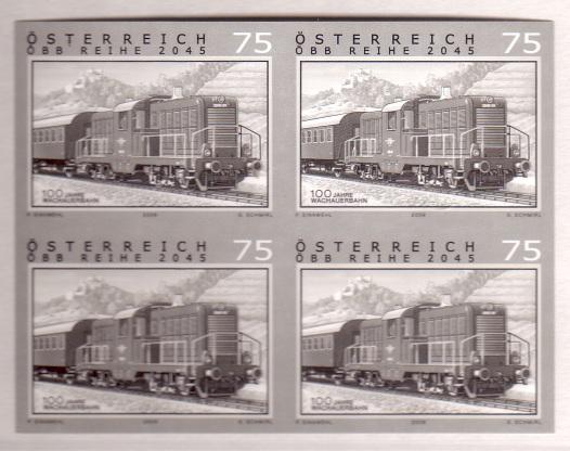 Österreich - Specimen, Schwarzdrucke, Buntdrucke 4ermar10