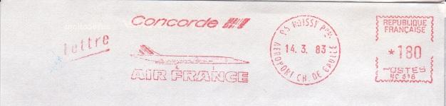 Absenderfreistempel Concorde Afscon11