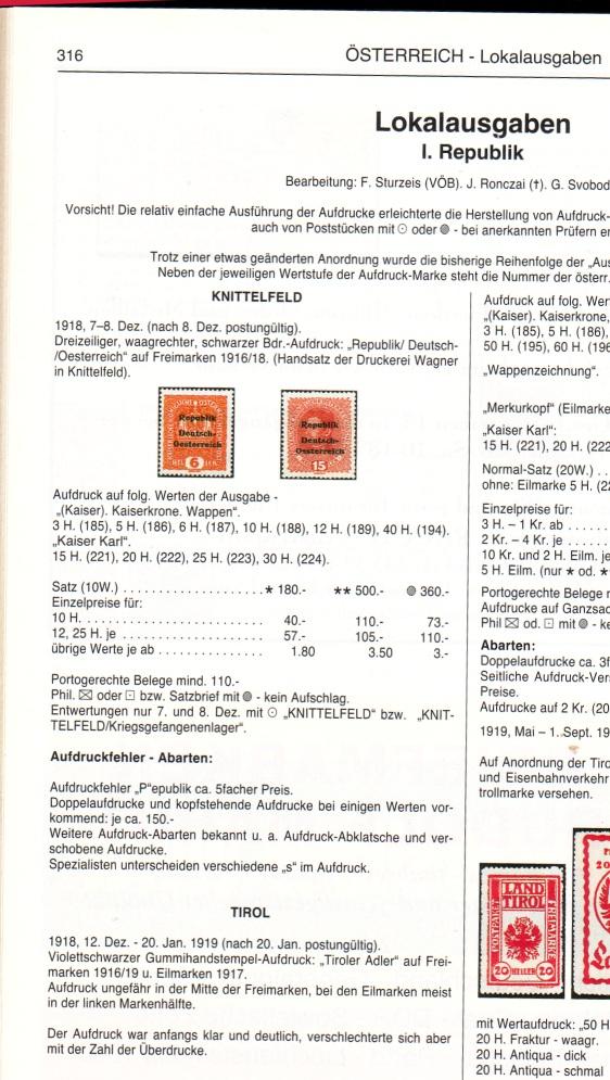 Deutsch-Öst Marke mit nicht katalogisiertem Aufdruck Ank10