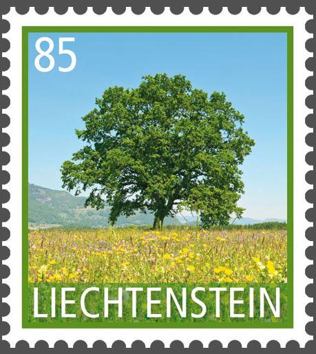 Liechtenstein - Liechtenstein 2016 - Ausgabetag 7. März Byume110