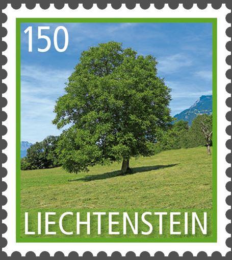 Liechtenstein 2016 - Ausgabetag 7. März Byume310