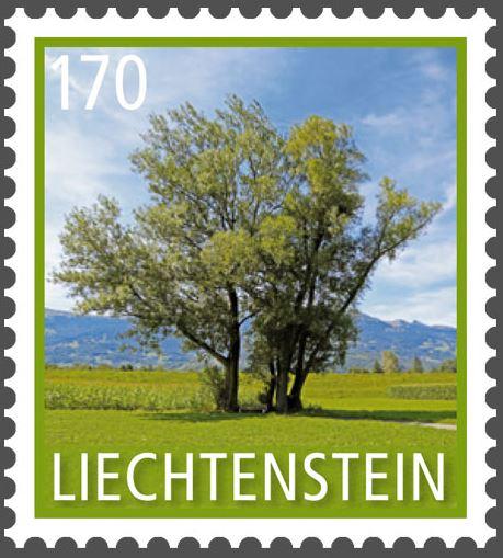 Liechtenstein - Liechtenstein 2016 - Ausgabetag 7. März Byume410