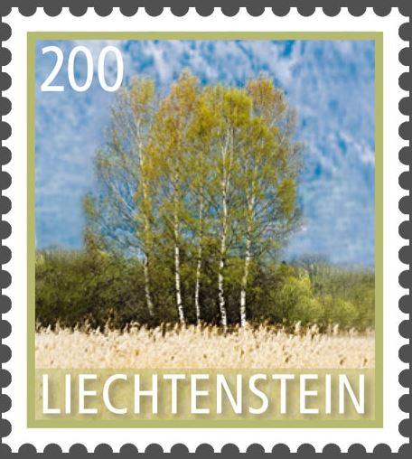 Liechtenstein 2016 - Ausgabetag 7. März Byume510