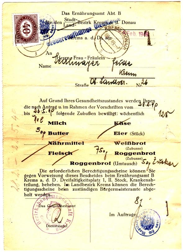 Verwendung von Portomarken in Österreich Enahru10