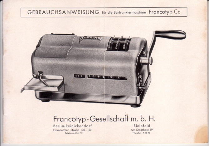 Stiefkind Freistempel Franki10