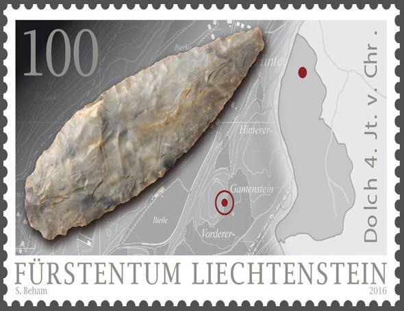 Liechtenstein - Liechtenstein 2016 - Ausgabetag 7. März Funde110