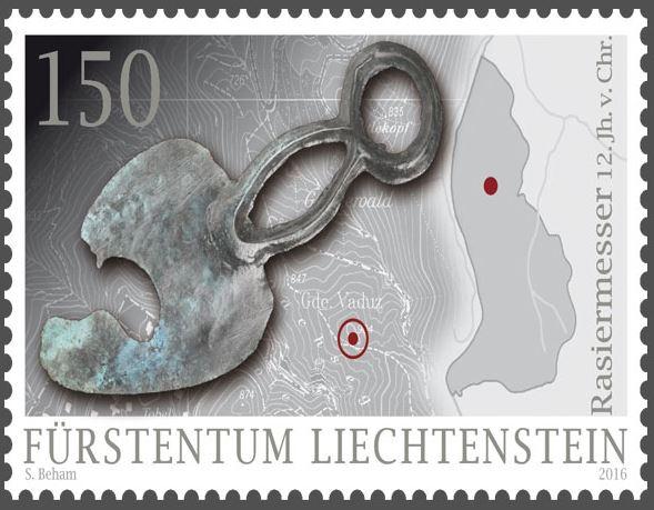 Liechtenstein - Liechtenstein 2016 - Ausgabetag 7. März Funde210