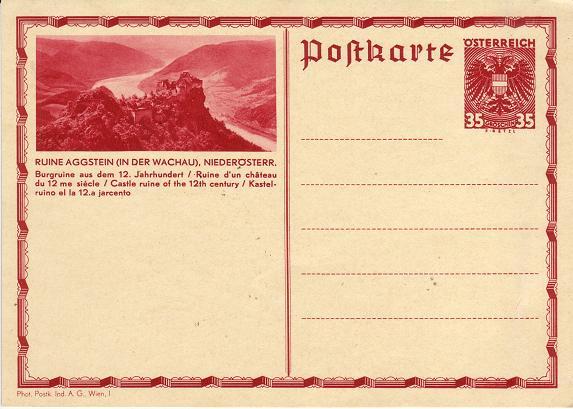 Bildpostkarten Österreich  -  Nachfrage Gsaggs10