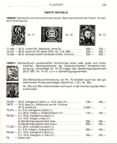trachten - Trachtenserien ANK 887 - 923 und 1052 - 1072 Belege Gskata10