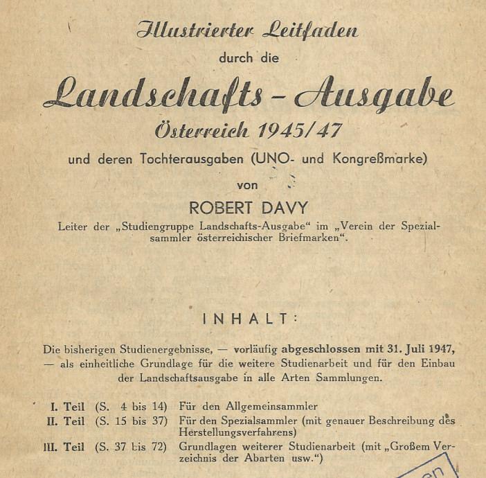 Spezialitäten der Landschaftserie 1945 Heft_l11