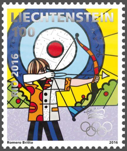 Liechtenstein 2016 - Ausgabetag 6. Juni Olymp110
