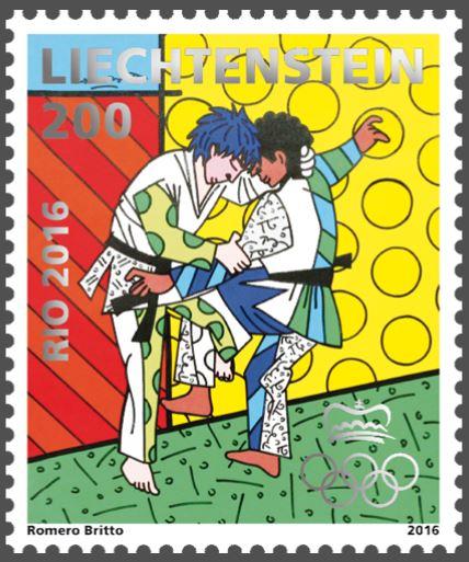 Liechtenstein 2016 - Ausgabetag 6. Juni Olymp210