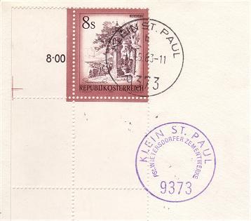 Posthilfsstellen-Stempel Phstst11
