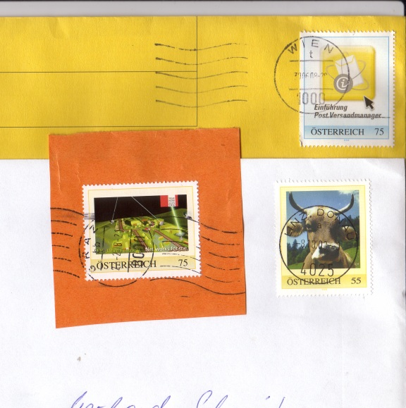 Personalisierte Briefmarke Pm10