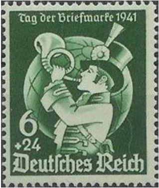 Das Posthorn auf Briefmarken Postho12