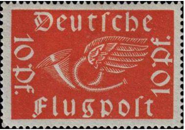 Das Posthorn auf Briefmarken Postho13